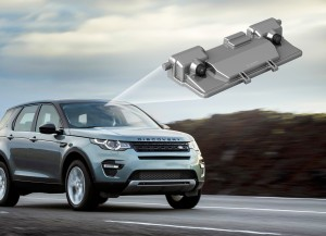 Bosch has developed a stereo video camera with which an emergency braking system can function based solely on camera data. Land Rover offers the stereo video camera together with the Bosch emergency braking system as standard in its new Discovery Sport.
